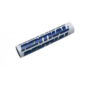 Mousse de guidon RENTHAL SX 240mm blanc/bleu