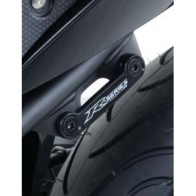 Cache orifice reposes-pied arrière R&G RACING noir Yamaha YZF-R3
