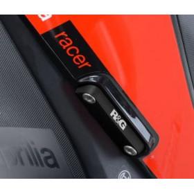 Caches orifice repose pieds arrière R&G RACING Aprilia RSV4RR
