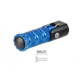 Repose-pieds repliables LIGHTECH M8x25 cobalt