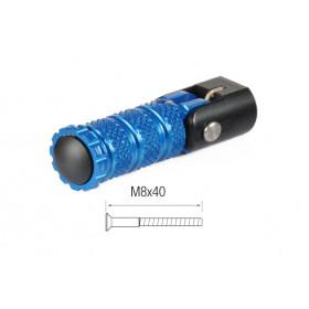 Repose-pieds repliables LIGHTECH M8x40 cobalt