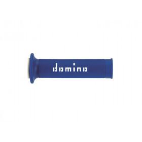 Revêtements DOMINO A010 Road/Racing bleu/blanc
