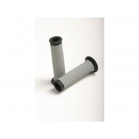 Revêtements RENTHAL Road Dual Series 100% picots gris/noir