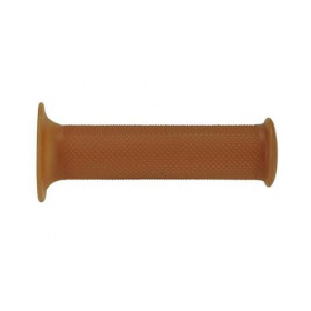 Revêtements de poignée DOMINO Café Racer brun