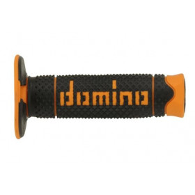 REVETEMENTS FULL GRIP DOMINO NOIR/ORANGE