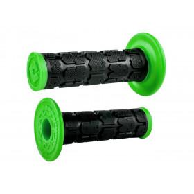 Revêtements ODI Rogue MX bicolores vert/noir