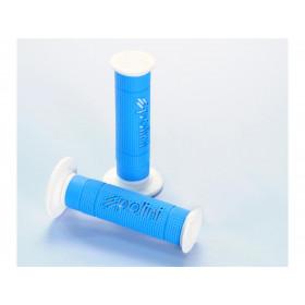 Revêtements de poignée Big Evolution Polini bleu/blanc
