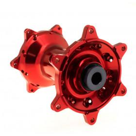 Moyeu HAAN WHEELS de roue arrière rouge Kawasaki