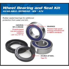Kit roulements de roue avant ALL BALLS Kawasaki KL600/KLR650