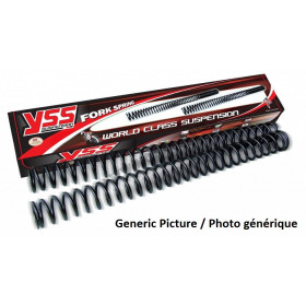 Ressorts de fourche YSS Showa 49mm HP pour pilotes 75-85kg Honda CRF450R