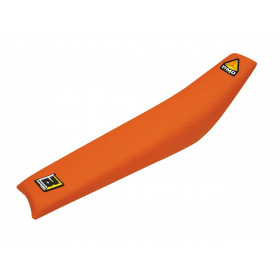 Housse de selle Blackbird Pyramid orange KTM