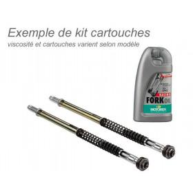 Kit cartouches de fourche BITUBO avec huile de fourche MOTOREX Triumph Thruxton