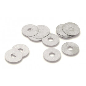 Clapets de suspension INNTECK acier Øint.16mm x Øext.24mm x ép.0,25mm 10pcs
