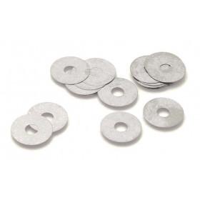 Clapets de suspension INNTECK acier Øint.12mm x Øext.25mm x ép.0,30mm 10pcs