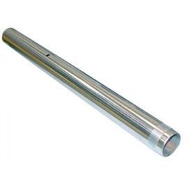 Tube de fourche  Ø33 X 396 Tecnium chromé unitaire