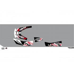 Kit déco KUTVEK Rotor noir Kymco MXU 400