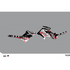 Kit déco KUTVEK Rotor noir Polaris Sportsman 850/1000