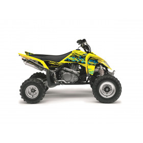 Kit déco KUTVEK Rotor jaune Suzuki LT-R450