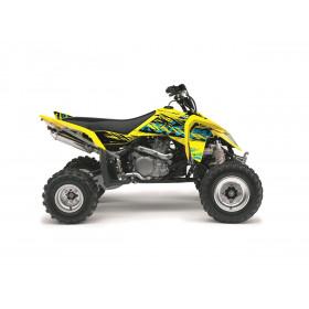 Kit déco KUTVEK Rotor jaune Suzuki LT-Z400