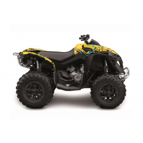 Kit déco KUTVEK Rotor jaune Can-Am Renegade