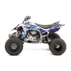Kit déco KUTVEK Rotor bleu Yamaha YFZ450R