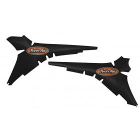 Kit déco anti-dérapant de boite à air TWIN AIR noir Husqvarna