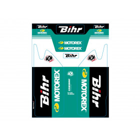 Kit de déco de fourche Bihr/Motorex KUTVEK KAWASAKI KX450F
