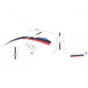 Kit déco BLACKBIRD Classic Line BMW R1200GS Adventure