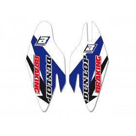 Kit déco protection de fourche BLACKBIRD Yamaha YZ250F/YZ450F