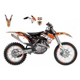 Kit déco BLACKBIRD Dream Graphic 3 KTM 125