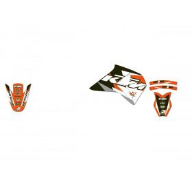 Kit déco BLACKBIRD Dream Graphic 3 KTM 4T Supercomp