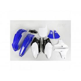 Kit plastique UFO couleur origine bleu/blanc Yamaha YZ85