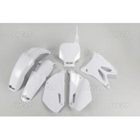 Kit plastique UFO blanc Yamaha YZ85