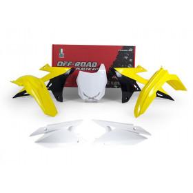 Kit plastique RACETECH couleur origine (2018) Suzuki RM-Z450