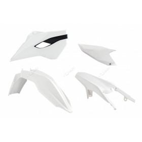 Kit plastique RACETECH blanc Husaberg