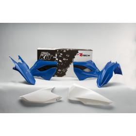 Kit plastique RACETECH couleur origine bleu/blanc Husaberg
