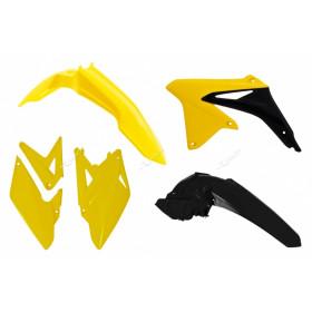 Kit plastique RACETECH couleur origine jaune/noir Suzuki RMX450Z