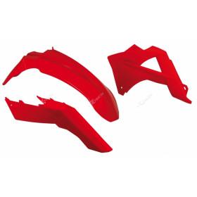 Kit plastique RACETECH couleur origine rouge Gas Gas EC125/250/300/450 FSR