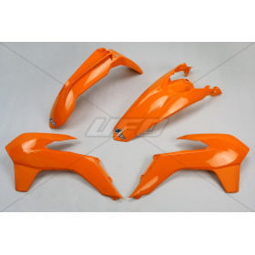Kit plastique UFO orange KTM