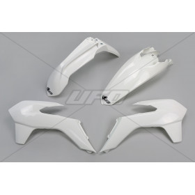 Kit plastique UFO blanc KTM