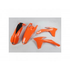 Kit plastique UFO couleur origine orange KTM