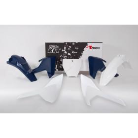 Kit plastique RACETECH couleur origine (2016) blanc Husqvarna