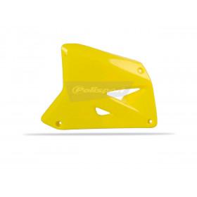 Ouïes de radiateur POLISPORT jaune Suzuki RM85