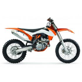 Ouïes de radiateur POLISPORT couleur origine 15 orange/blanc KTM SX85