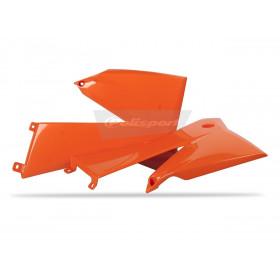 Ouïes de radiateur POLISPORT orange KTM