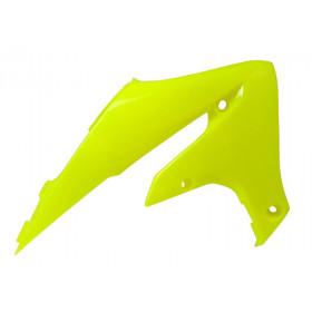 Ouïes de radiateur RACETECH jaune fluo Yamaha YZ-450F