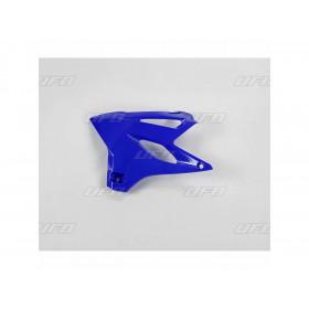 Ouïes de radiateur UFO bleu Reflex Yamaha YZ85