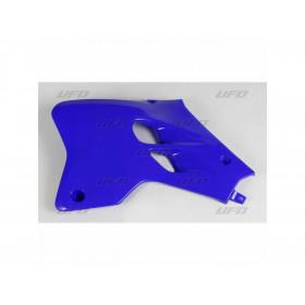 Ouïes de radiateur UFO bleu Reflex Yamaha YZ80