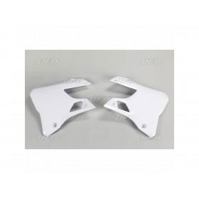 Ouïes de radiateur UFO blanc Yamaha