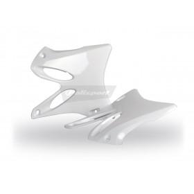 Ouïes de radiateur POLISPORT blanc Yamaha YZ125/YZ250